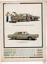 1963 Dodge Dart Car Ad - $8.99