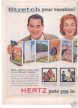 HERTZ RENT A CAR AD IMPALA - $12.99