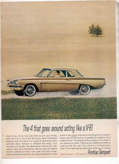1962 PONTIAC TEMPEST AD