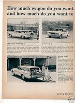 1962 STATION WAGON AD - $10.99