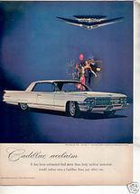 1962 CADILLAC CAR AD - $8.99