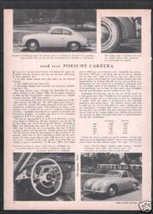 1956 PORSCHE CARRERA ROAD TEST - $9.99