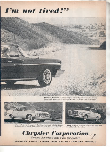 1961 CHRYSLER AD