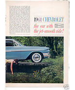 1961 IMPALA AD-2 PAGE ATTACHED - $10.99