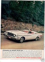 1962 Dodge Polara 500 Ad - $8.99