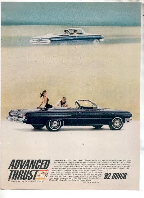 1962 BUICK WILDCAT 445 AD