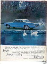 1961 BUICK SKYLARK AD - $8.99