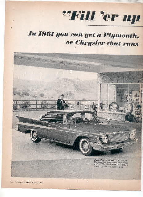 1961 CHRYSLER NEWPORT-DART AD