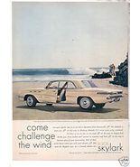 1961 BUICK SKYLARK AD - $9.99