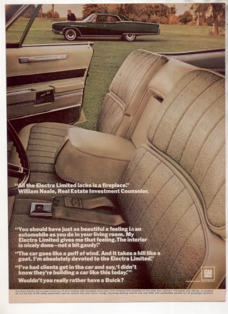 1967 1968 BUICK ELECTRA 225 AD