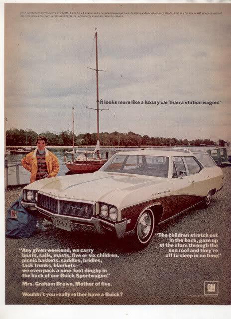 1967 1968 BUICK SPORTWAGON AD