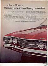 1968 MERCURY MONTEGO AD - $10.99