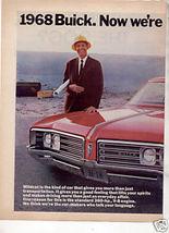 1968 Buick Wildcat Print Ad - $11.99