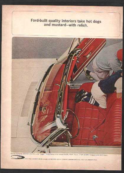1963 1964 COMET AD