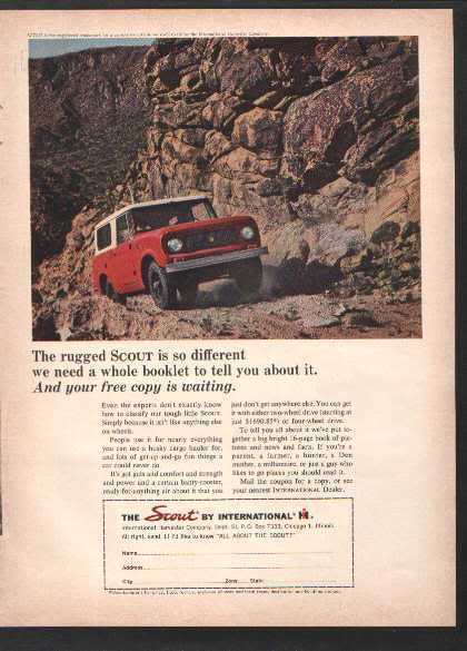1963 1964 SCOUT AD