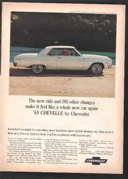 1965 CHEVELLE AD