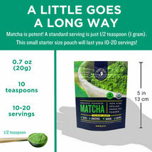Jade Leaf Matcha, Organic Japanese Culinary Grade, Powdered Tea,  0.7 Oz image 3