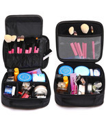 Women Cosmetic Bag High Quality Travel Cosmetic Organizer Makeup Bag  - $24.41