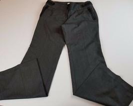 Ann Taylor LOFT Womens Pants Sz 6 Marisa Dress Slacks Gray Career  - $20.80