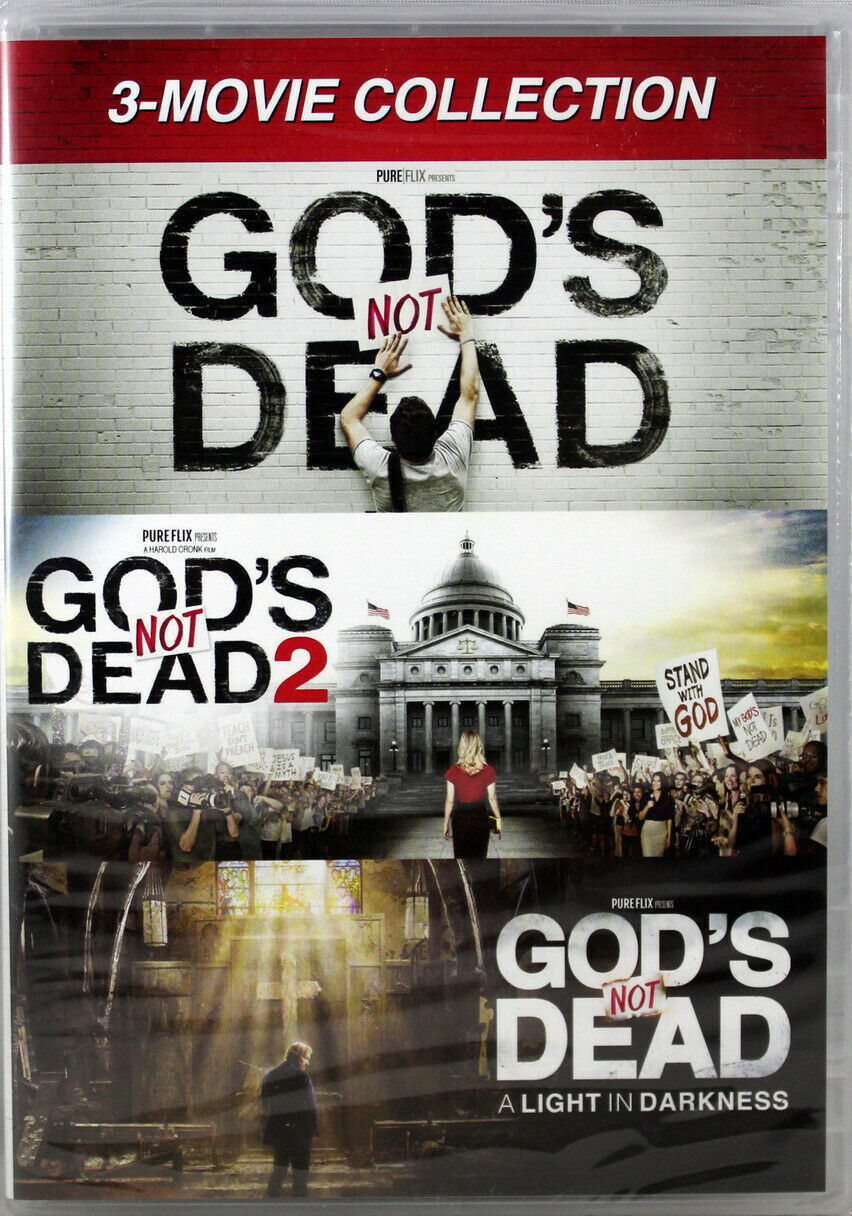 Primary image for God's Not Dead 3 Movie Collection NEW 3 DVDs All 3 God's Not Dead Movies