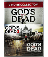 God's Not Dead 3 Movie Collection NEW 3 DVDs All 3 God's Not Dead Movies - $12.76