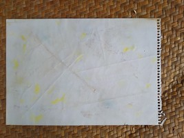 "Eco-Dyed Paper - Multiple Colour (7.5"" x 10.5"") - $3.00"