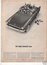 1962 ALPINE AD - $7.99