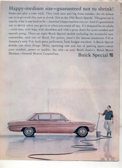 1962 BUICK SPECIAL AD