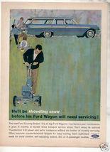 1962 WAGON AD - $9.99