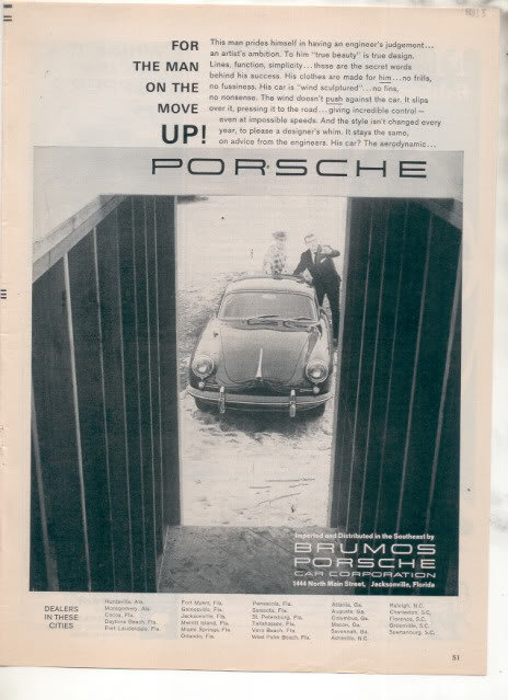 1962 PORSCHE AD