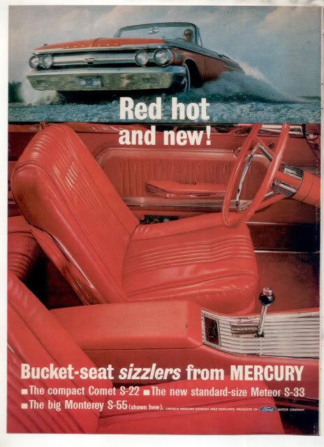 1962 MERCURY AD