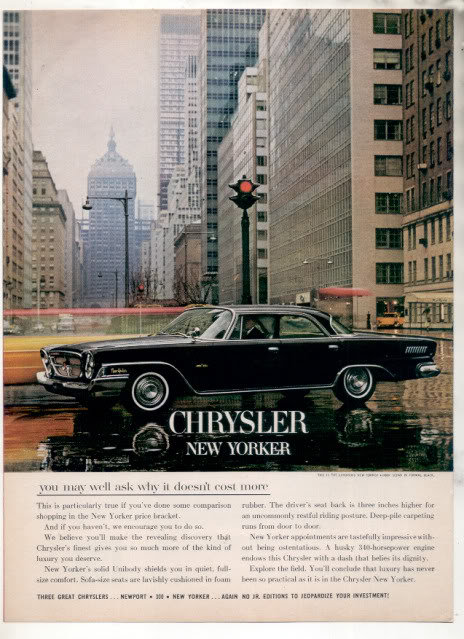 1962 NEW YORKER AD