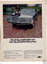 1970 CHEVY CAPRICE OJ SIMPSON NARQUERITE CAR AD - $24.99