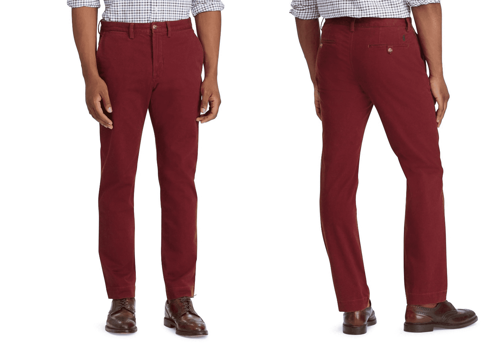 Polo Ralph Lauren Men's Classic Fit Chino Pants, Red, Size 32X32,MSRP $85 - $49.49