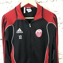 Adidas Portland Timbers Alliance Black and Red Track Jacket Climacool Youth Sz L - $29.69