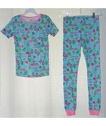 Girls Sams Club Dream Big Flamingos Top & Long Pants Pajamas Set Sz 4T 5T 6 8 - $9.95