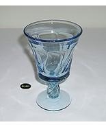 """Fostoria Jamestown Blue Goblet 5 7/8"""" Water Stem - $8.95"""