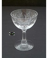 "Fostoria Sprite Cut Stem 4 1/4"" Cocktail - $12.50"