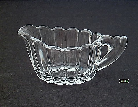 Heisey Crystolite Creamer And Sugar Regular Size