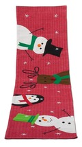 Tag Table Cover Winter Whimsy Runner Holiday Christmas Snowman Penguin 6... - $15.95