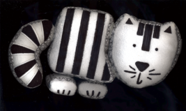 Pottery Barn Stuffed Kitty Puzzle for Baby - $10.00