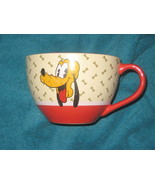 DISNEY STORE Pluto Coffee Cup / Soup Cup. Brand New. - $21.89