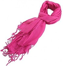 HDE Women's Wrap Scarf Lightweight All Seasons Solid Colors Classic Shawl - $12.23