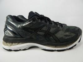 Asics Gel Nimbus 19 Size 8M (B) 39.5 Mujer Zapatillas para Correr Negro Plata