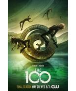 "The 100 Poster Jason Rothenberg Season 7 TV Series Art Print Size 24x36"" 27x40"" - £7.57 GBP - £13.68 GBP"