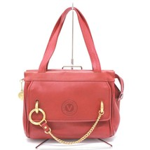 AUTHENTIC GIOVANNI VALENTINO Valentino Leather Hand Bag Red - €81,59 EUR