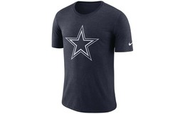 Dallas Cowboys Men's Nike Tri-Vault Logo Tee - Navy - Size 2XL - $16.95