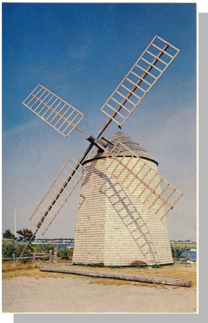 Windmill bass river