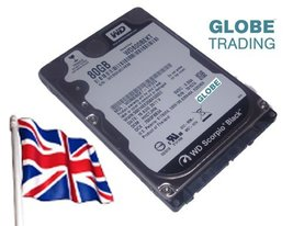 Western Digital Western Digital Scorpio Black 2.5In 80Gb Notebook Hard Drive, 54