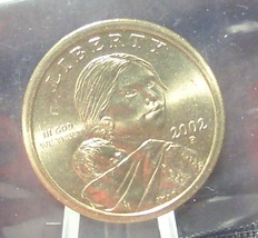 2002-P Sacagawea Dollar BU In the Cello #0936 - $3.39
